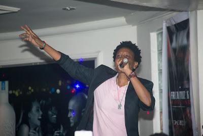 Weird Mc at African Muzik Magazine launch