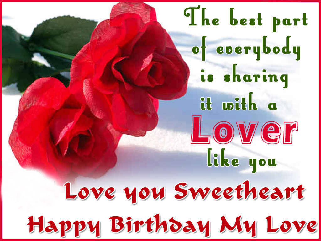 Romantic Birthday Text Messages For Lovers With Images Quotes