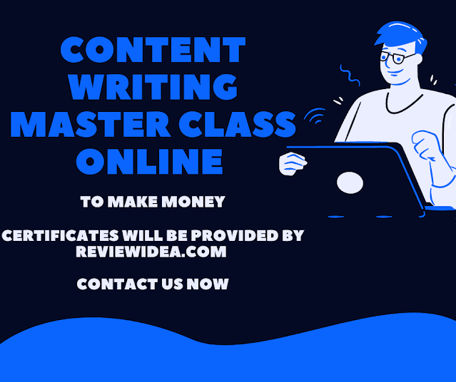 content writing master class online