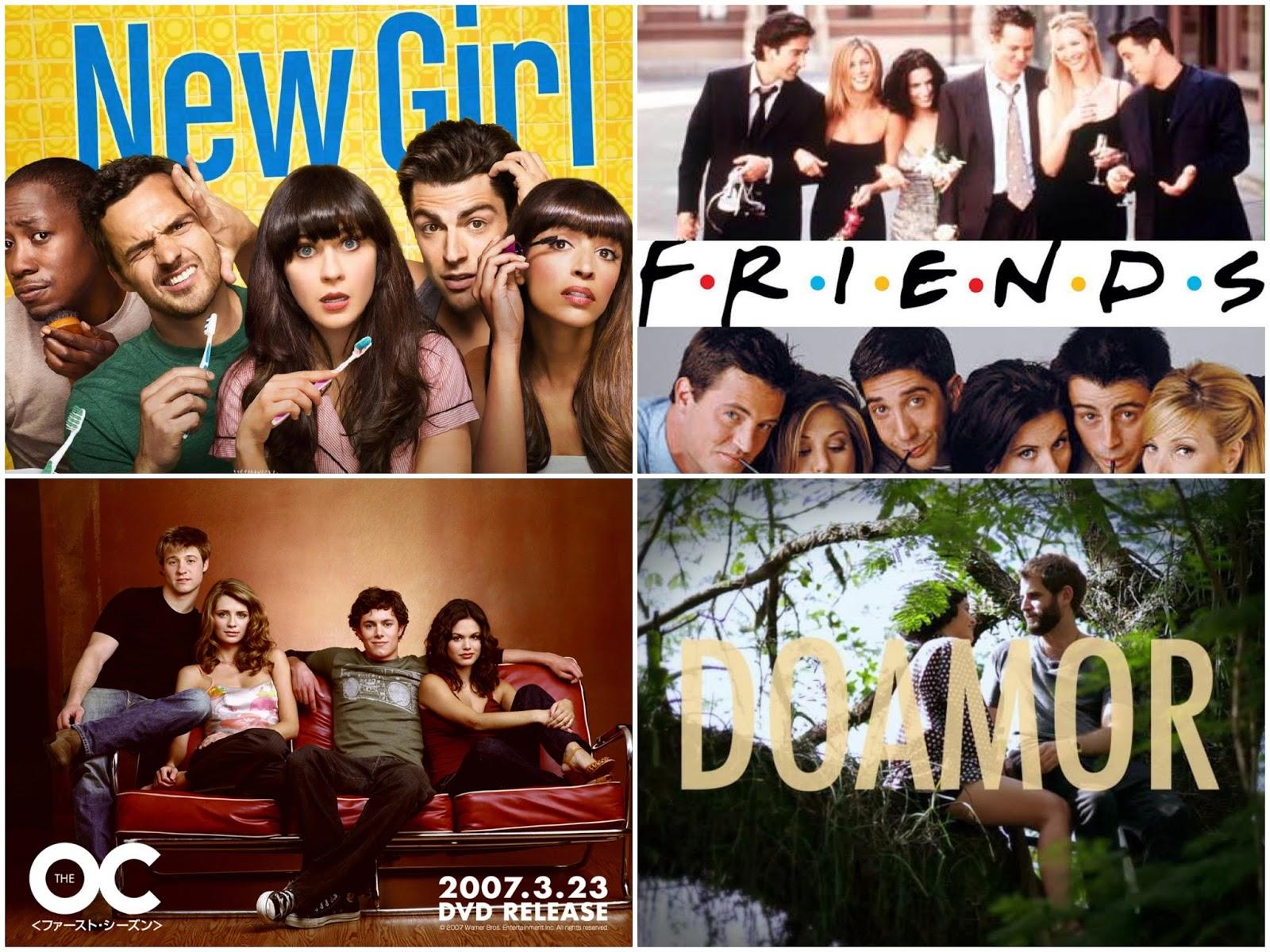 seriado the oc friends séries do amor não enrola blog tutorial amor por séries viciada em séries tag