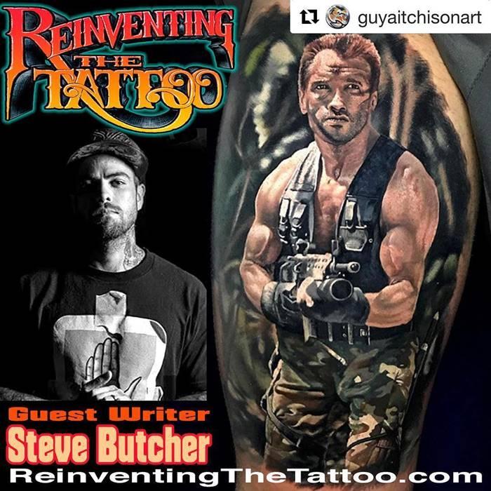 Steve Butcher New Zealand Hyper-Realistic Tattoo Artist