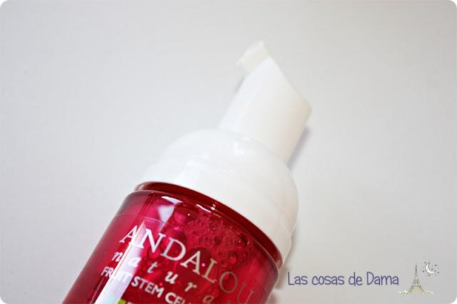 Cleansing Foam Andalou Naturals limpiador Iherb