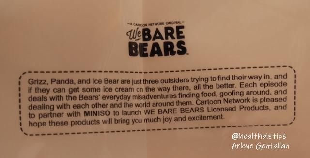 Miniso We Bare Bears Odorless Mild Wipes Review | Healthbiztips