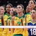 Brasil vence a Coreia do Sul e vai à final do vôlei feminino contra os Estados Unidos
