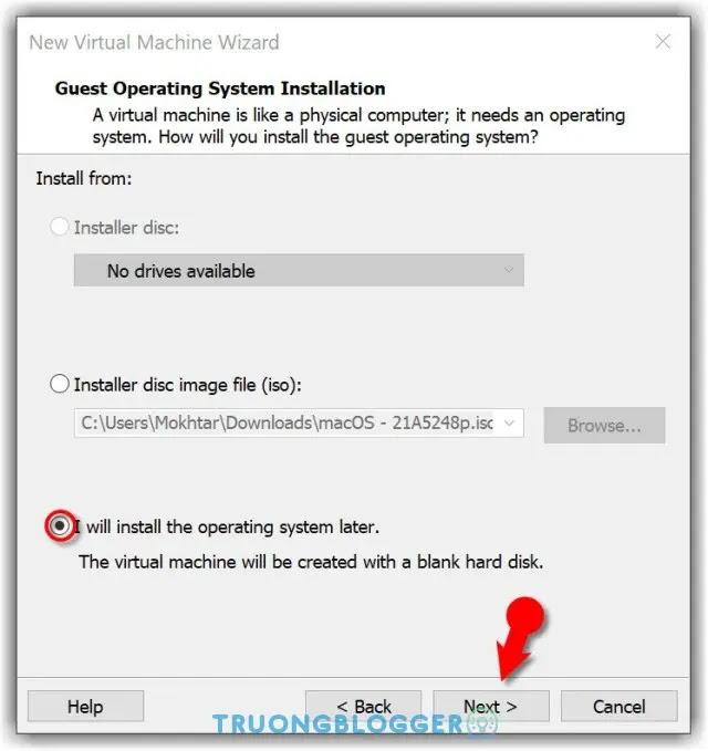 Các bước cài đặt macOS Monterey Beta trên máy ảo VMware trong Windows