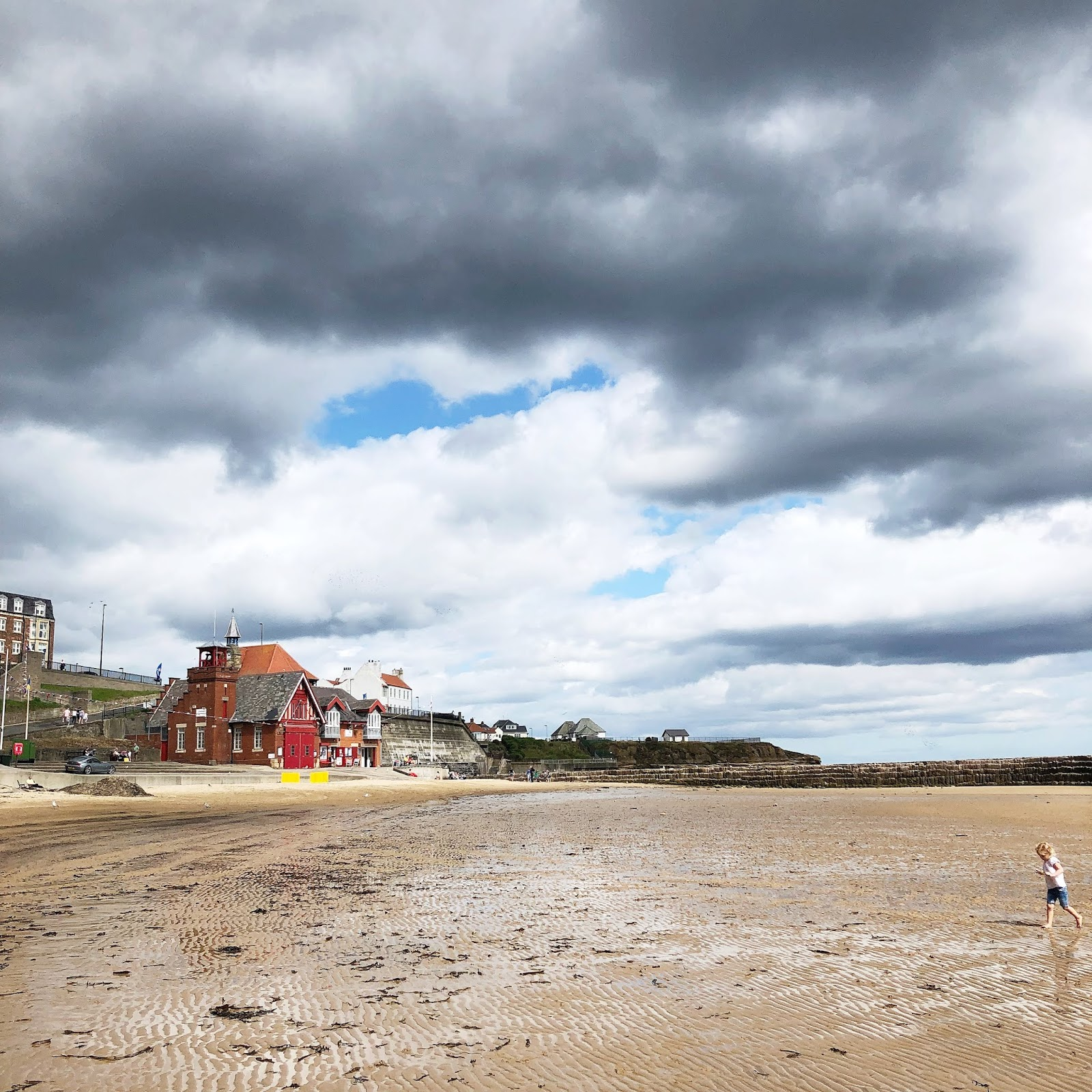 My August Days - Cullercoats Beach
