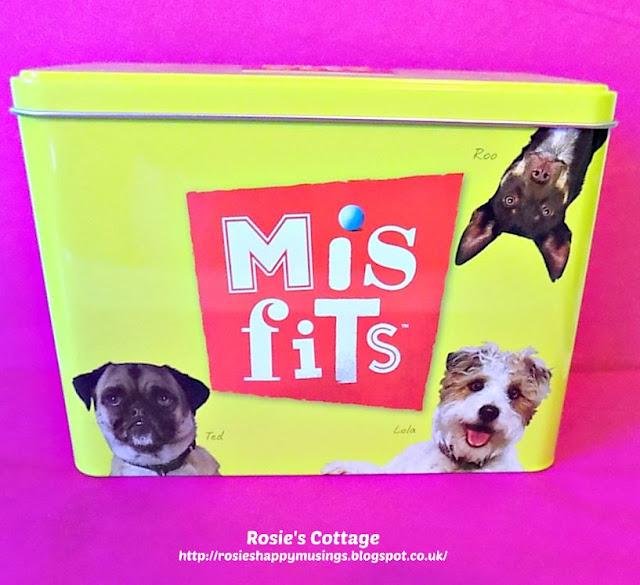Misfits Limited Edition Tin With Dog Treats