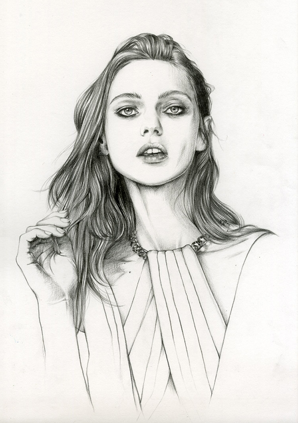 10-Caroline-Andrieu-Fashion-Shows-Distilled-into-Drawing-Portraits-www-designstack-co