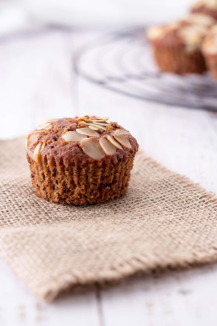 Muffins de Chocolate y Guindas de www.recomiendoblog.com