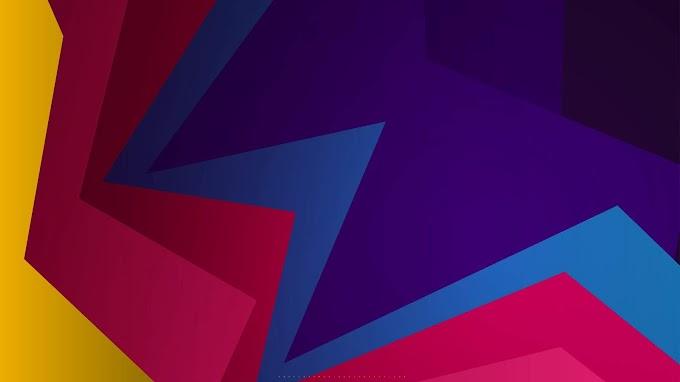 Origami, Colorido, Geometria, Abstrato