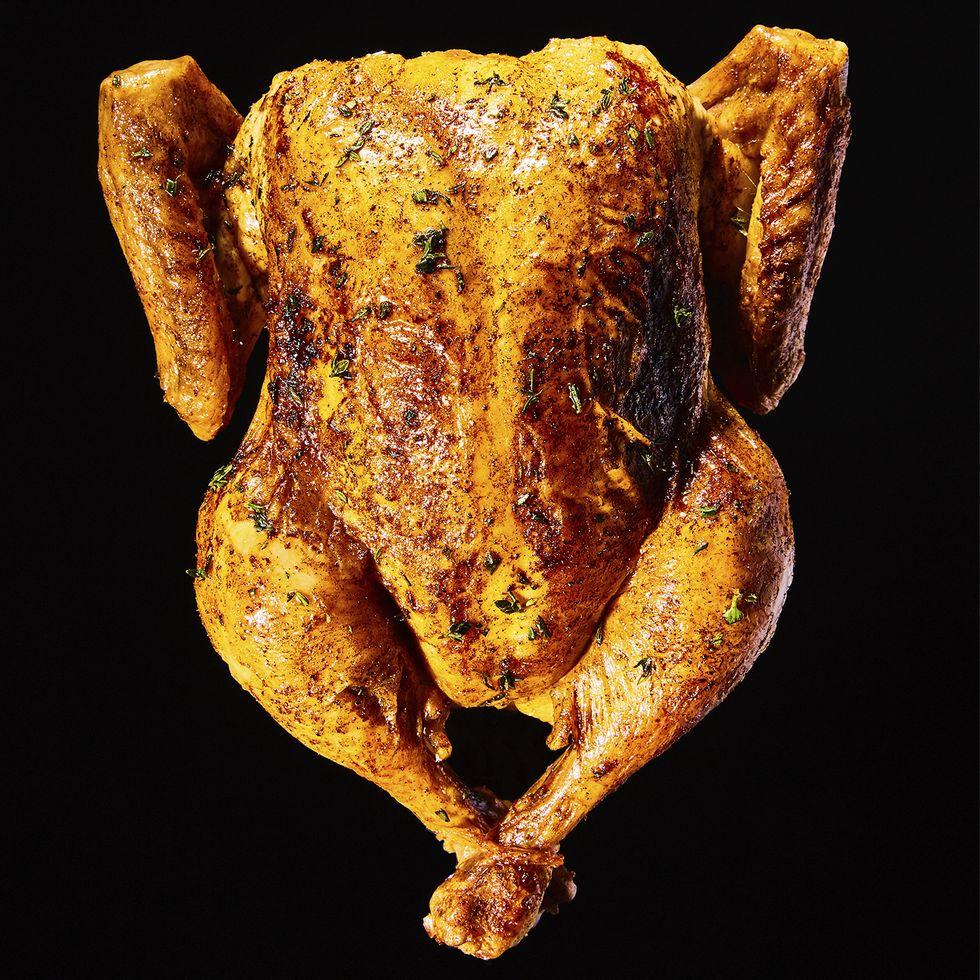 Gà nướng ăn sẽ đạm thịt và ngọt thịt hơn các món gà khác