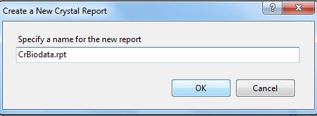 Membuat Laporan Biodata dengan Crystal Report Vb.Net 1