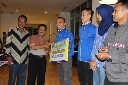 Akhirnya... KONI Subang Bagikan Rp 1 Miliar Untuk Atlet Berprestasi di PON