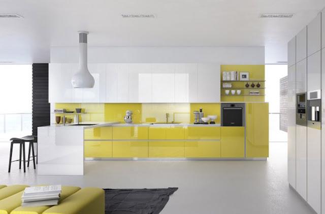 mẫu tủ bếp acrylic có màu sắc óng ánh tự nhiênĐiểm neo