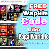 Wapkiz website kokaise banaye paglworld all code