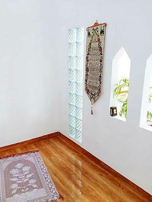 6 inspirasi : cara mendesain mushola mungil di dalam rumah
