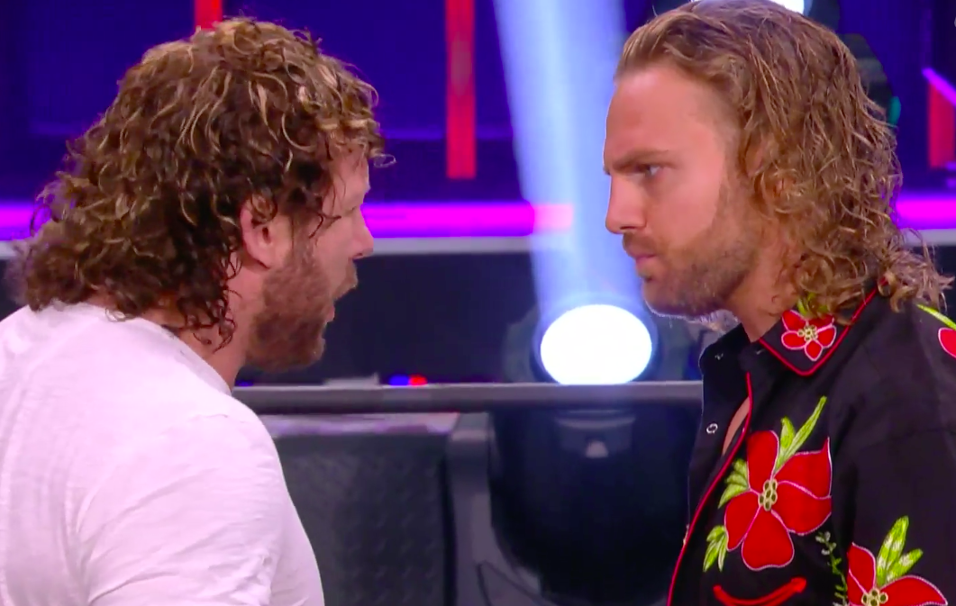 Kenny Omega and Adam Page on AEW Dynamite