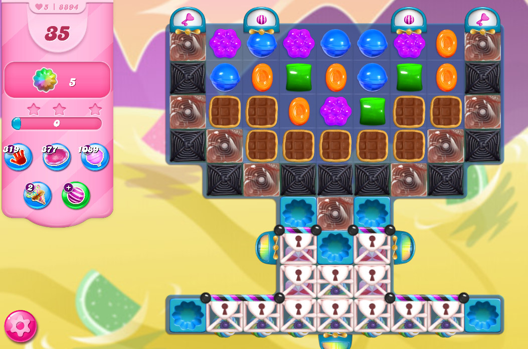 Candy Crush Saga level 8894