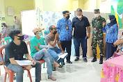 Danramil 04/Pulogadung Kolaborasi Dengan PD.Pasar Jaya Pulogadung Tuntaskan Vaksin Pedagang