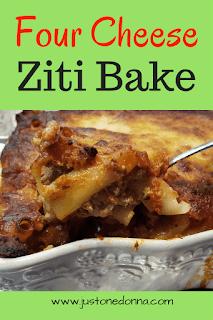Four Cheese Ziti Bake