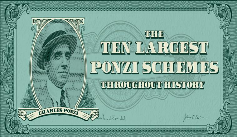 The Ponzi Scheme turns 100 #infographic