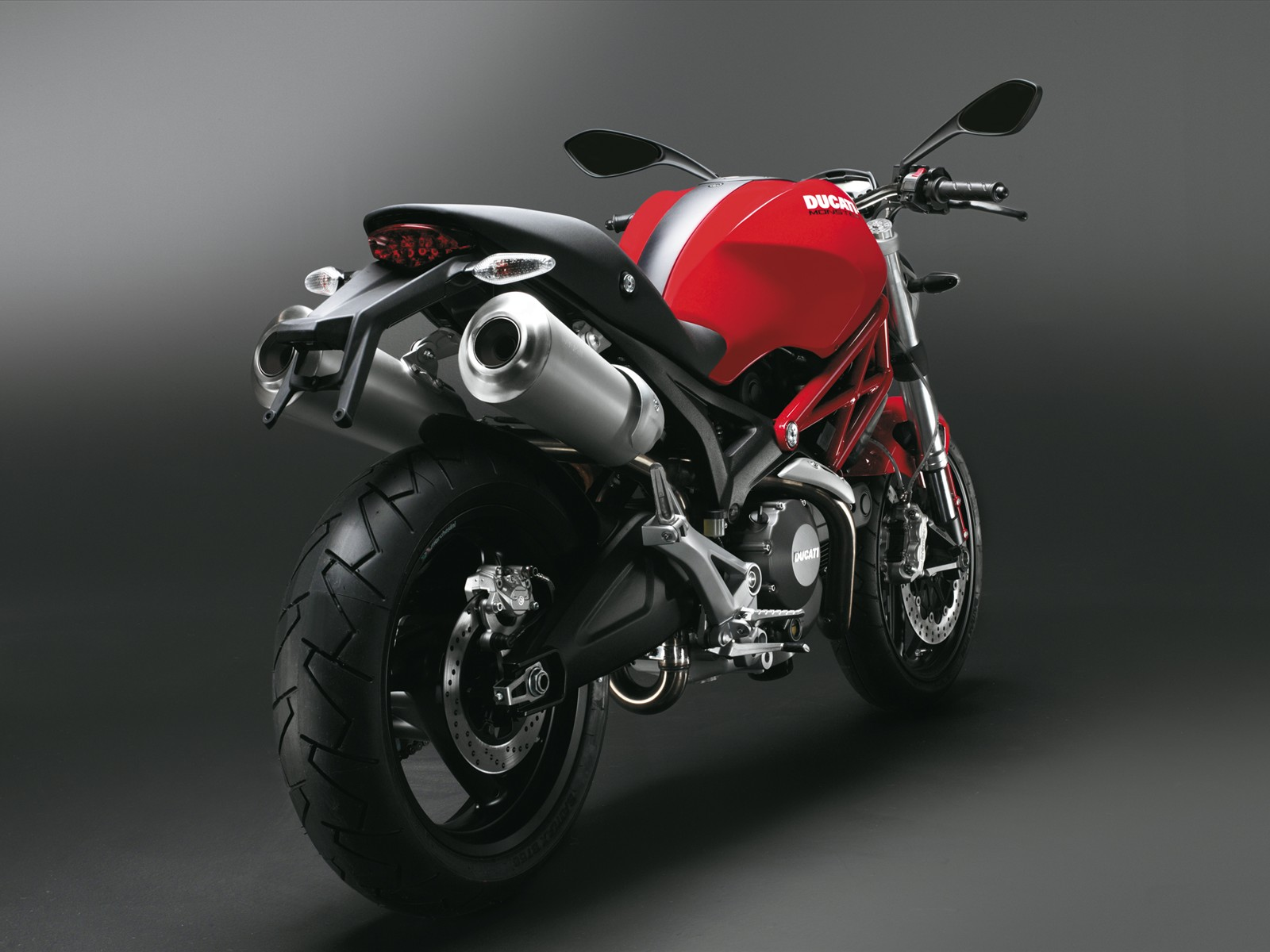 Ducati Monster Red Rear Normal