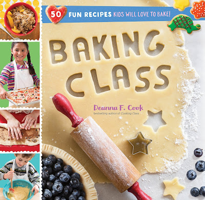 Baking Class - A great cookbook for young cooks! There is a wide range of recipes of different skill levels that kids of various cooking abilities can try. Baking Class is recommended for ages 8-12.