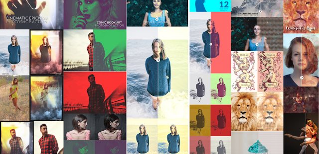 Photoshop Actions ~ مجموعة من أفضل التأتيرات للفوتوشوب