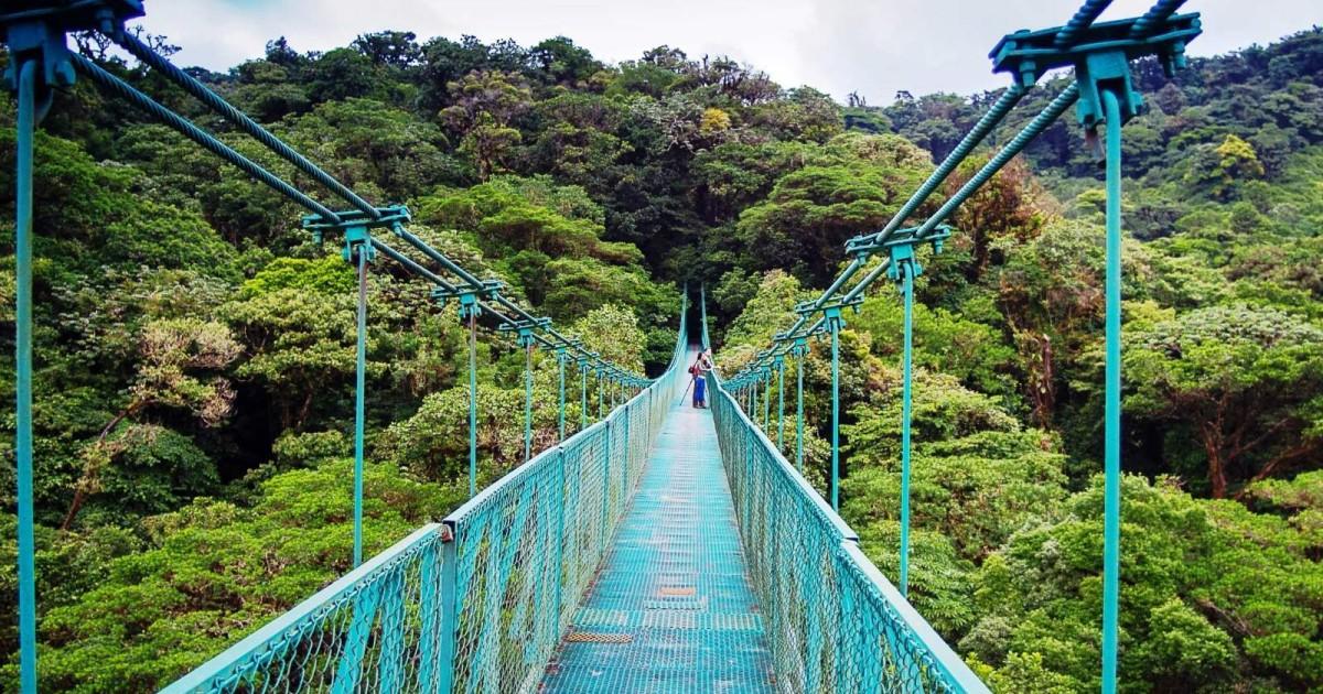 Висячие мосты в Монтеверде, Коста-Рика