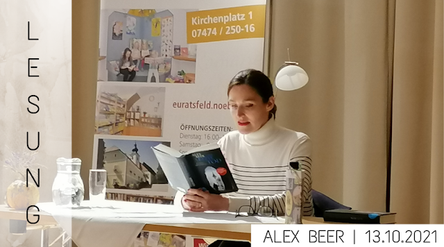 LESUNG | Alex Beer 13.10.2021