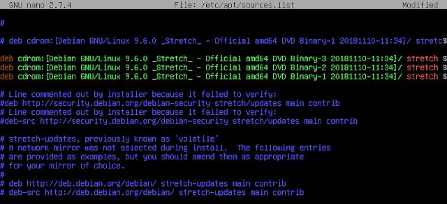 /etc/apt/sources.list debian 9.6