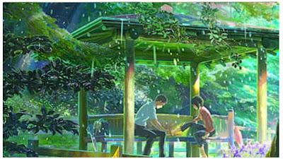 rekomendasi terbaik anime romantis baper kotonoha no niwa