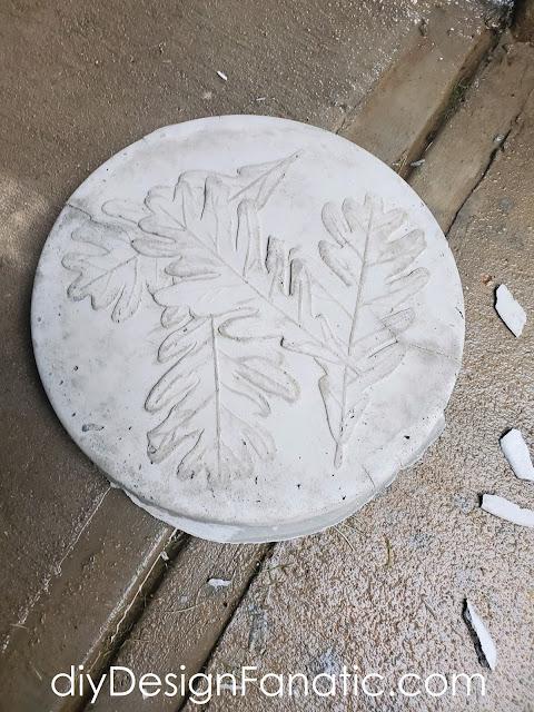 concrete stepping stones, gardening,  cottage garden