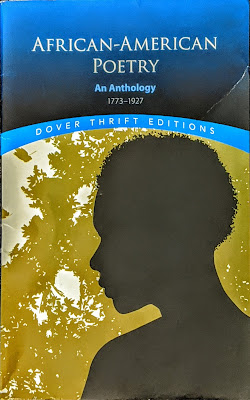 Book cover to African American Poetry - An Anthology, 1773-1927, Dover Edition.
