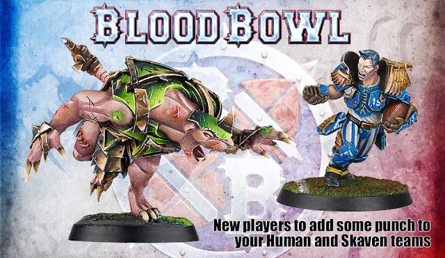 Forge World: New Blood Bowl Reiklander Grif Oberwald and Skaven Rat Ogre