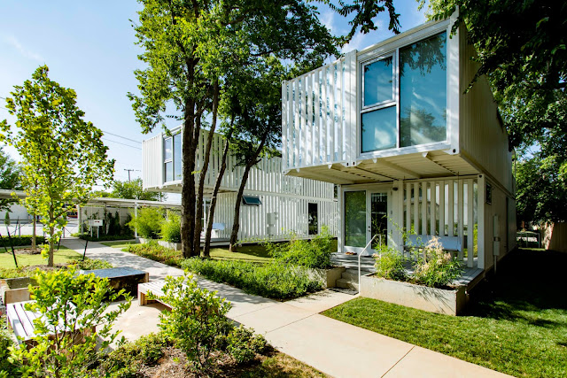 Award-Winning Shipping Container Homes, Oklahoma City 1