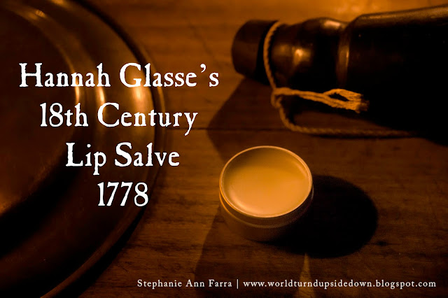 Colonial Lip Balm Recipe