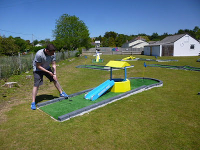 Crazy Golf at Penwith Pitch & Putt in St Erth, Hayle, Cornwall