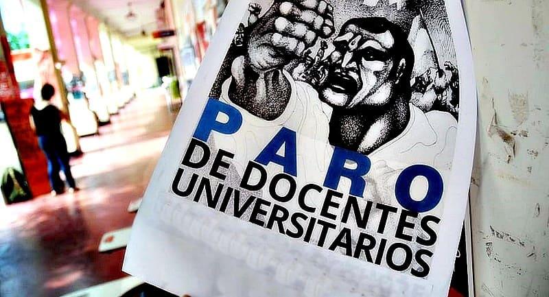 Convocan para el jueves a los docentes universitarios a continuar la paritaria