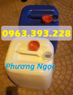 Can nhựa HDPE nguyên sinh, can nhựa 30 Lít vuông, can đựng hóa chất 30L 4891217ed2ad2bf372bc