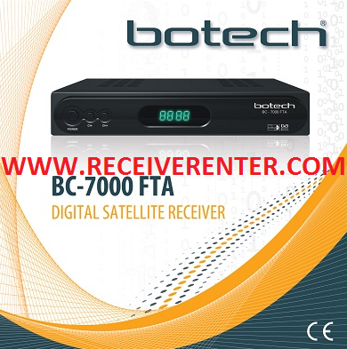 BOTECH BC-7000 FTA RECEIVER BISS KEY OPTION