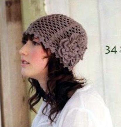 Patrón 1018 Gorro Delicado a Crochet