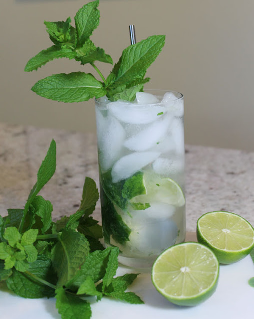 Mint Gin Rickey