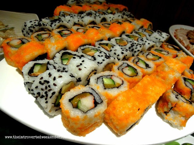 California maki at Holiday Inn Makati