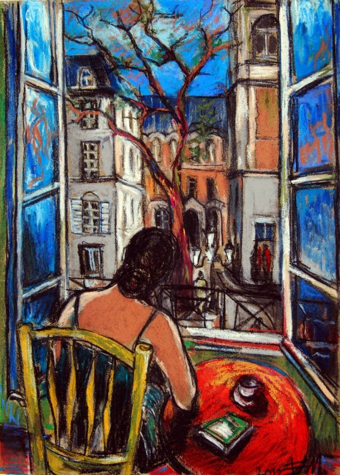 Яркие и динамичные цвета. Mona Edulesco