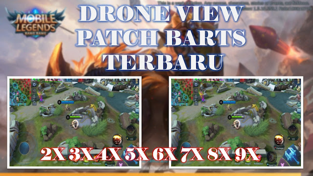 drone view patch barts