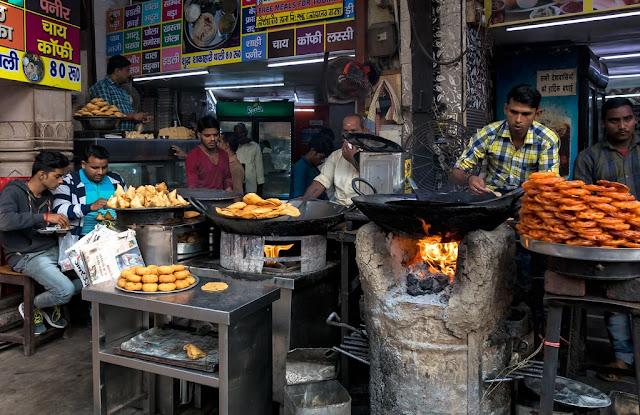 Instead of Fancy Restaurants try Street Food