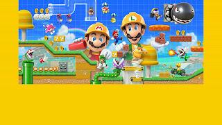 'Super Mario Maker 2' que, para além de uma robusta seleção de ferramentas para criar níveis inteiros de 'Super Mario'
