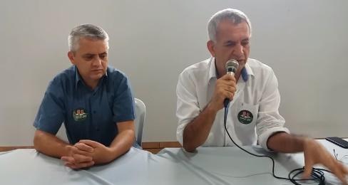 """Campina da Lagoa: Prefeito nervoso, grava vídeo e diz """"dá vontade de pegar o boné e ir pra casa"""""""