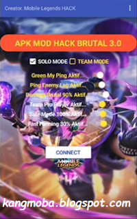 Hallo sobatku kangmoba kembali lagi nih dengan saya mimin yang pada kesempatan kali ini s APK MOD Hack Brutal v3 Mobile Legends v1.3.96 Patch Lylia Terbaru